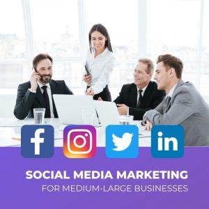 Social Media for Large Businesses